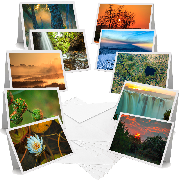 African Landscapes - Greeting Cards (Pack of 10)