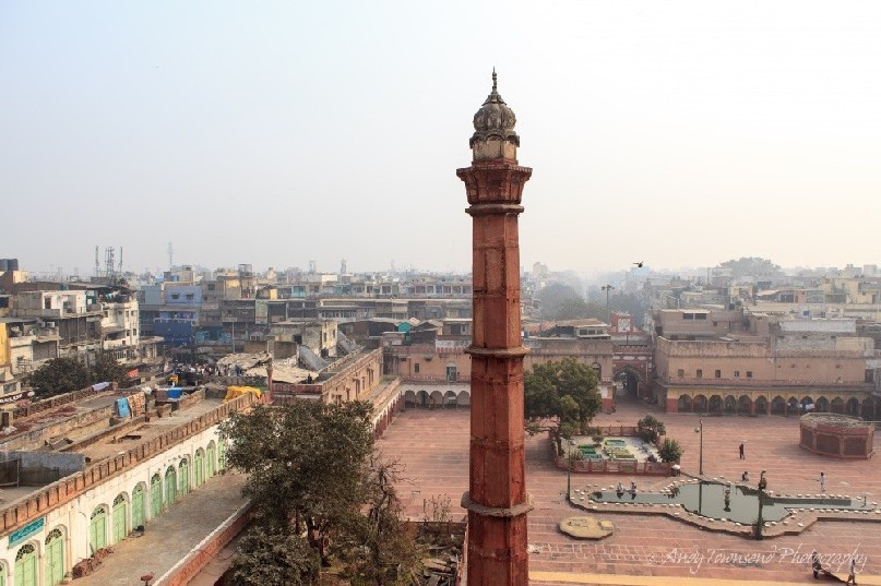 Fatehpuri Masjid mosque and surrounding complex.